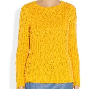 Band of Outsiders Yellow Sweater